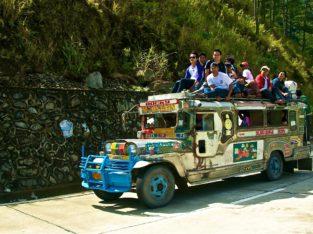 El Jeenpey será tu transporte por Banaue