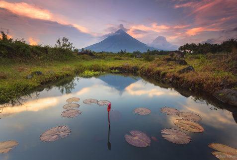 Guía de Bicol volcan Mayon