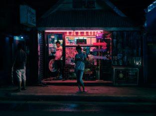 Ambiente nocturno Boracay