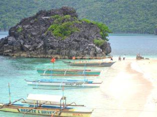 Islas de Caramoan en Bicol