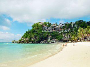 Playa de Diniwid guía de Boracay