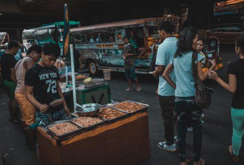 Calles de Manila en un recorrido por la capital de Filipinas