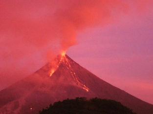Volcan Mayon en Bicol