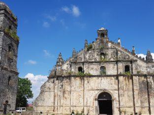 Visita iglesia de Paoay en Ilocos