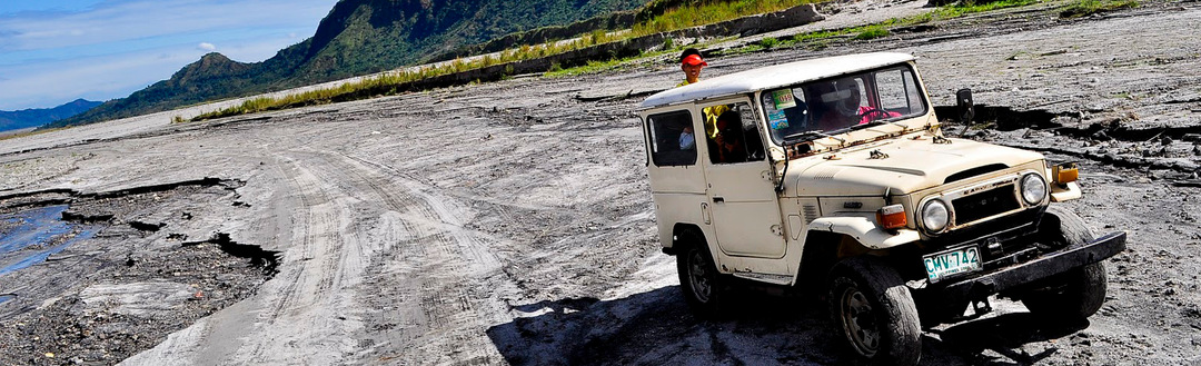 Camino al volcan Pinatubo