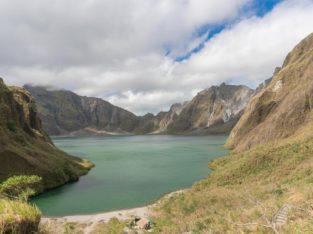 Lago del volcan Pinatubo