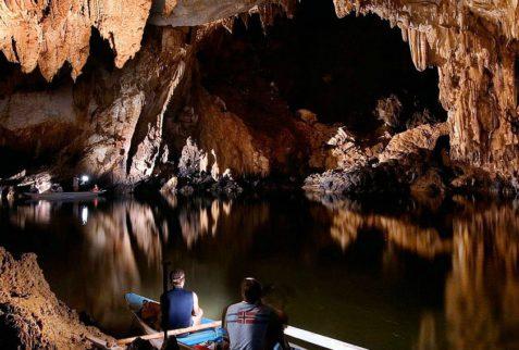 Rio subterráneo de Puerto Princesa