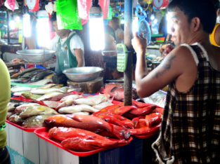 Mercado local de Puerto Princesa