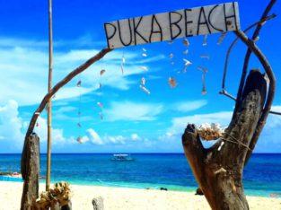 Puka Beach playas de Boracay