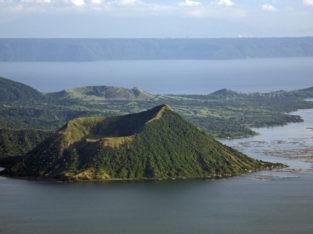 Visitas del volcan Taal