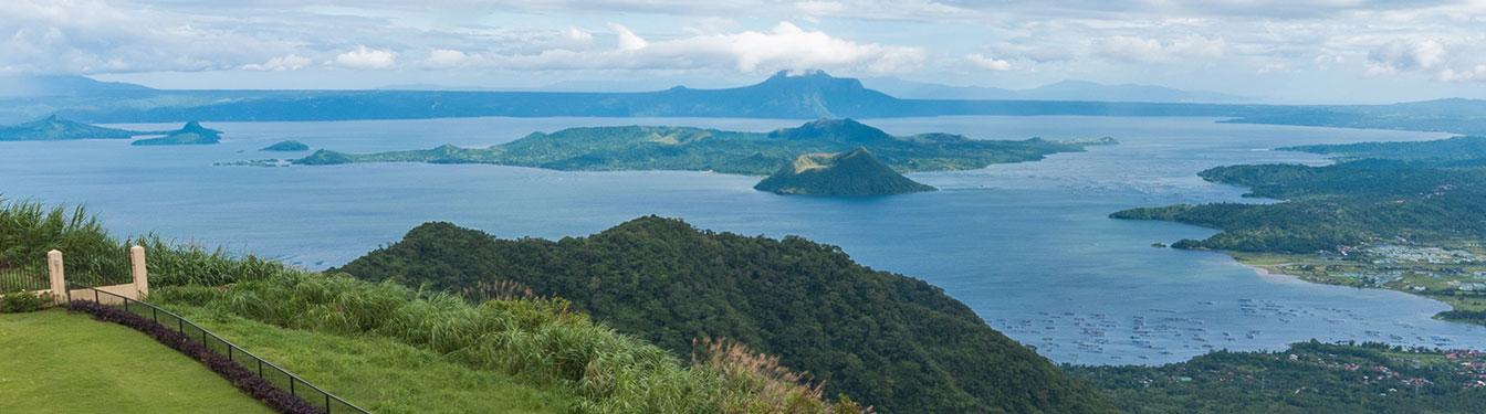 Volcan Taal desde Tagaytay