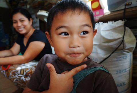 Niño en Cebu