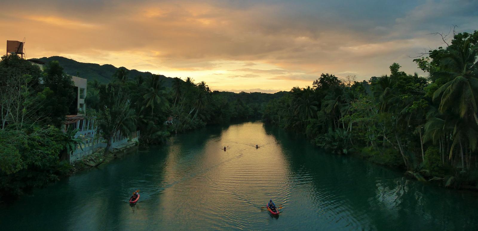 Guia de Bohol. Río Loboc
