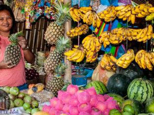 Visita mercado Malatapay en la isla de Negros con Woola Filipinas