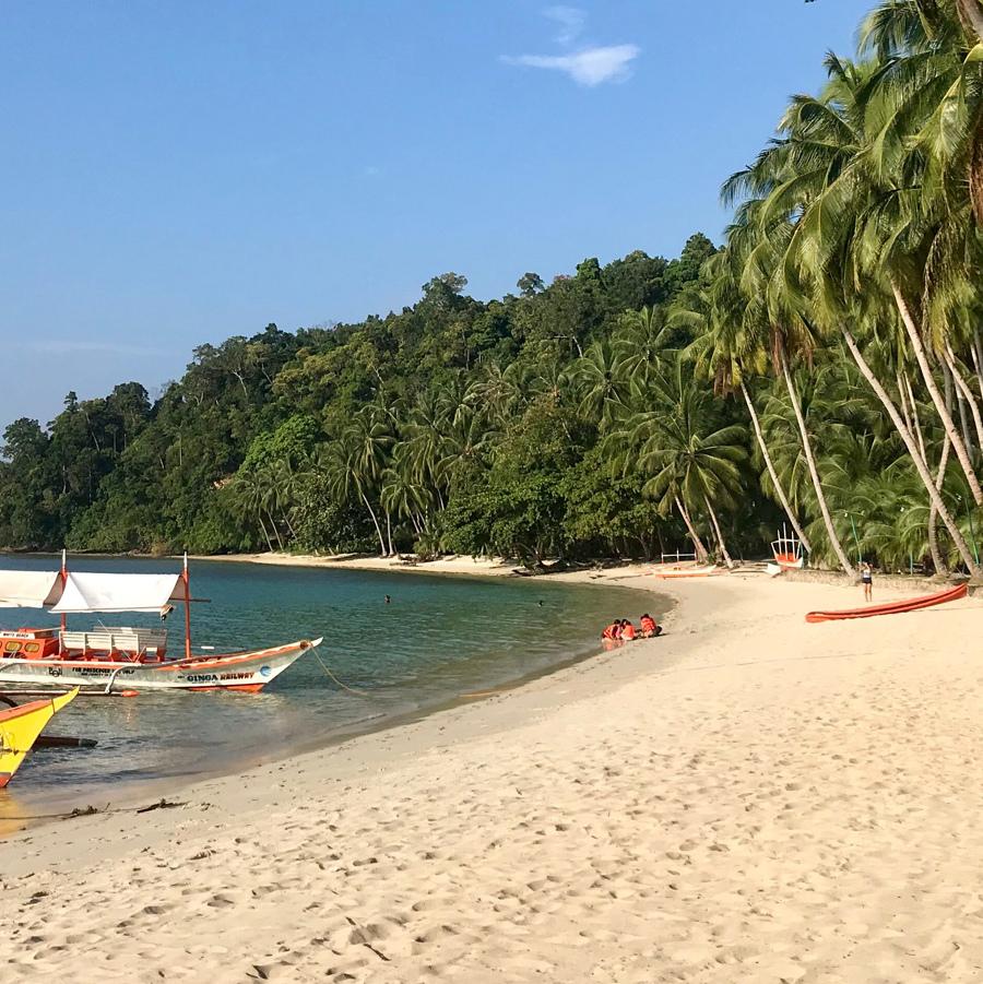 White Beach Port Barton, Viaje 15 días Filipinas