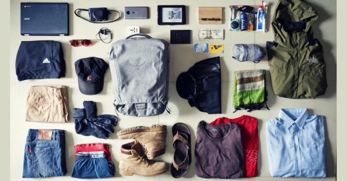 Todos los items que debes llevar en tu mochila para Filipinas
