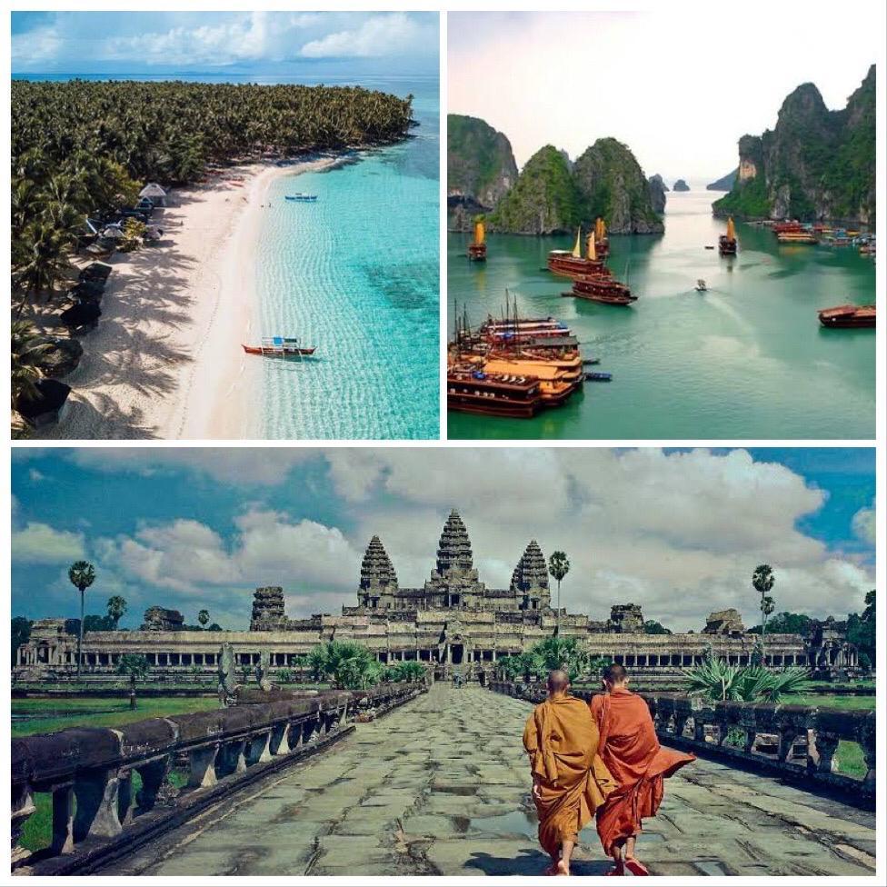 Viajes combinados por Asia con Vietnam, Camboya y Filipinas
