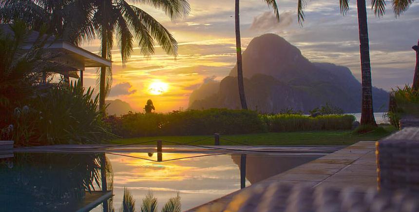 Cadlao Resort. Donde dormir en El Nido