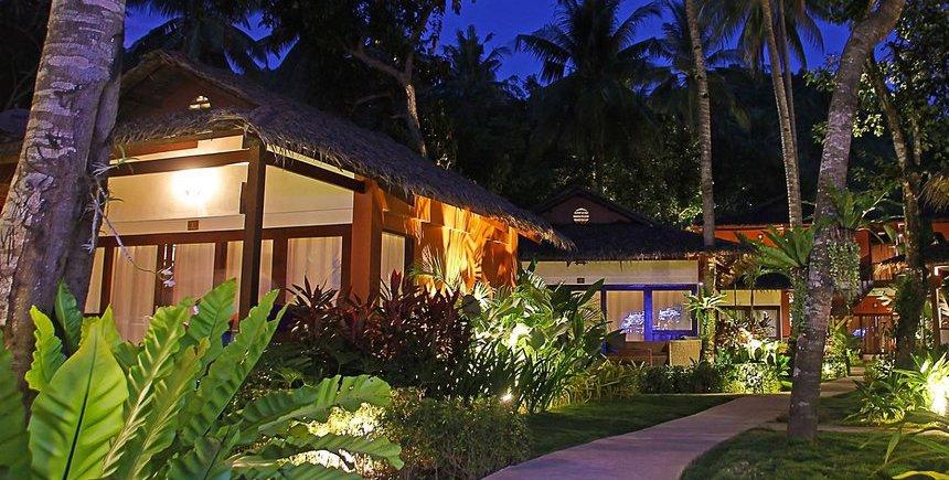 Last Frontier Beach Resort. Donde dormir en El Nido