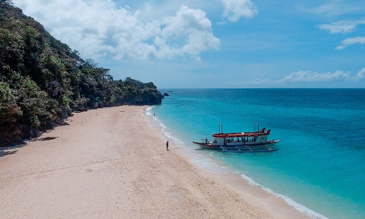 Puka Beach Boracay Mejores playas de Filipinas