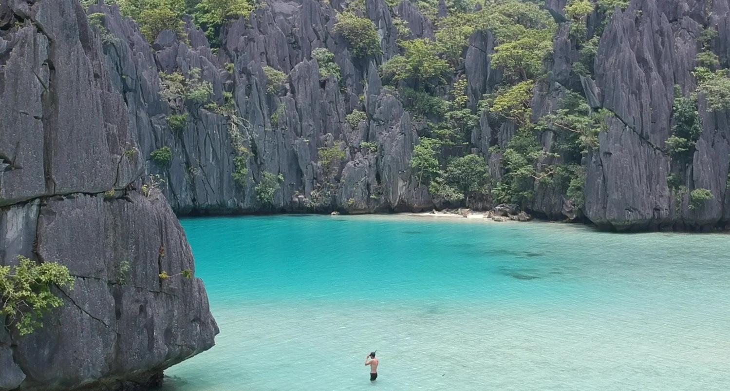 Hidden Beach, Playa escondida El Nido en las mejores playas de Filipinas