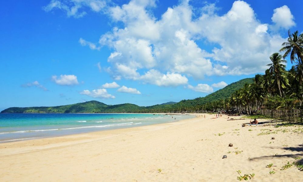 Nacpan Beach El Nido Palawan Mejores playas de Filipinas