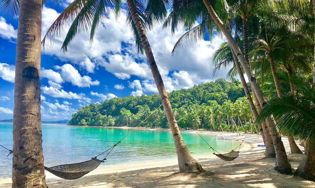 White Beach Port Barton Palawan. Mejores playas de Filipinas
