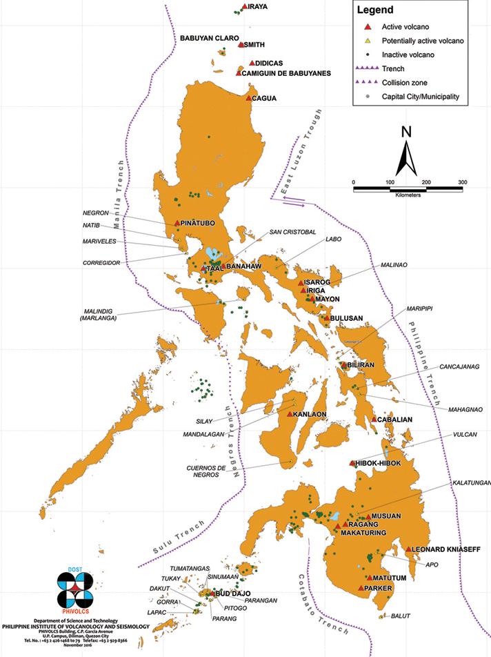 Volcanes de Filipinas