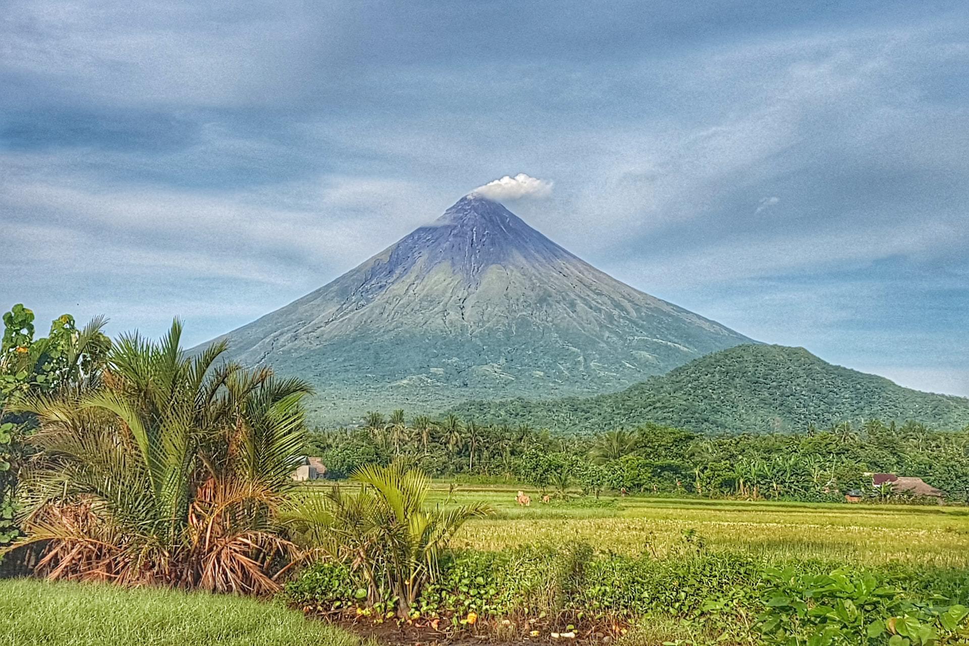 Viaje por los volcanes de Filipinas