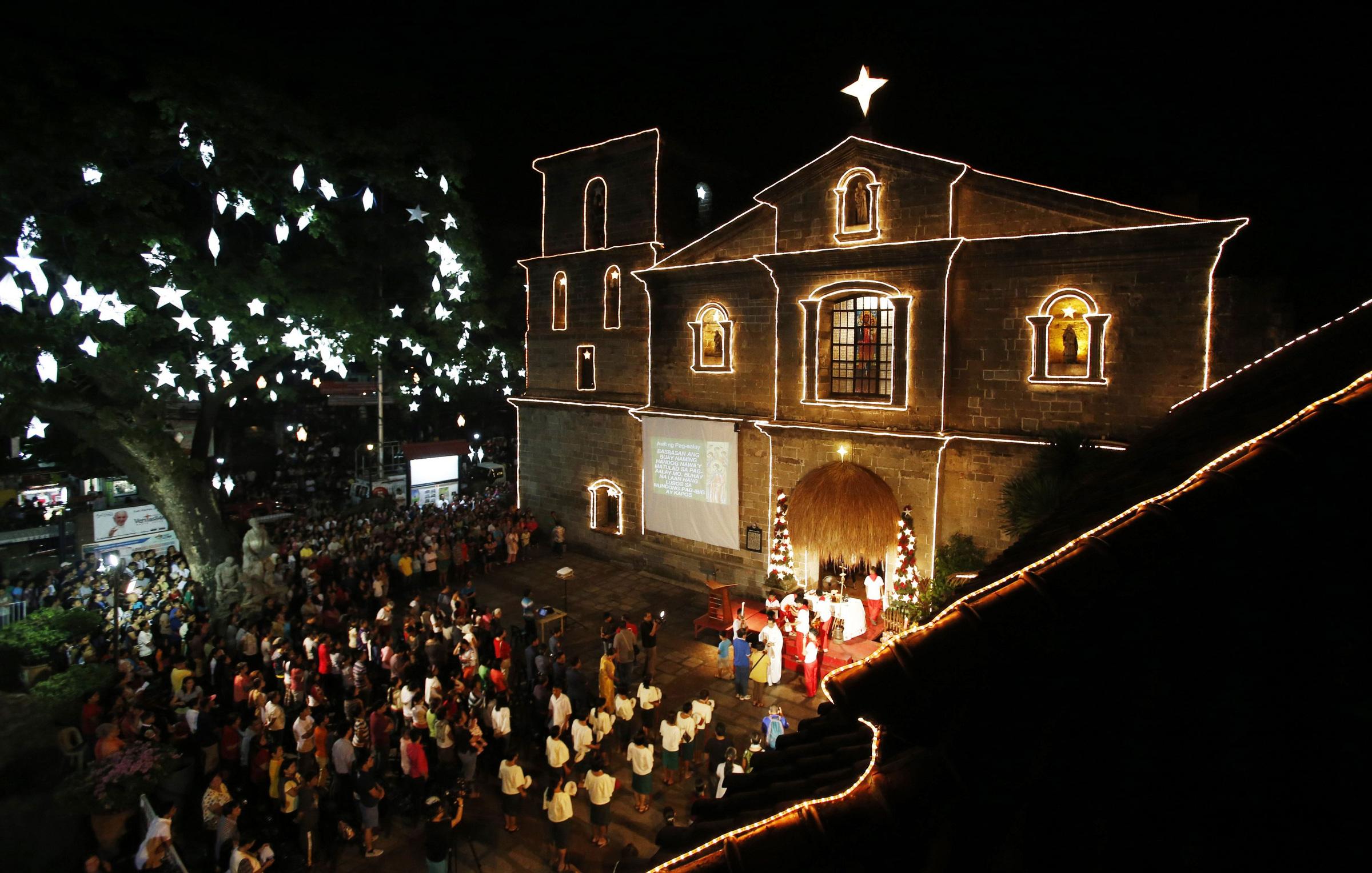 Tradiciones de Navidad en Filipinas